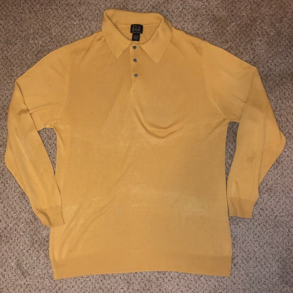 Silk Long sleeve polo